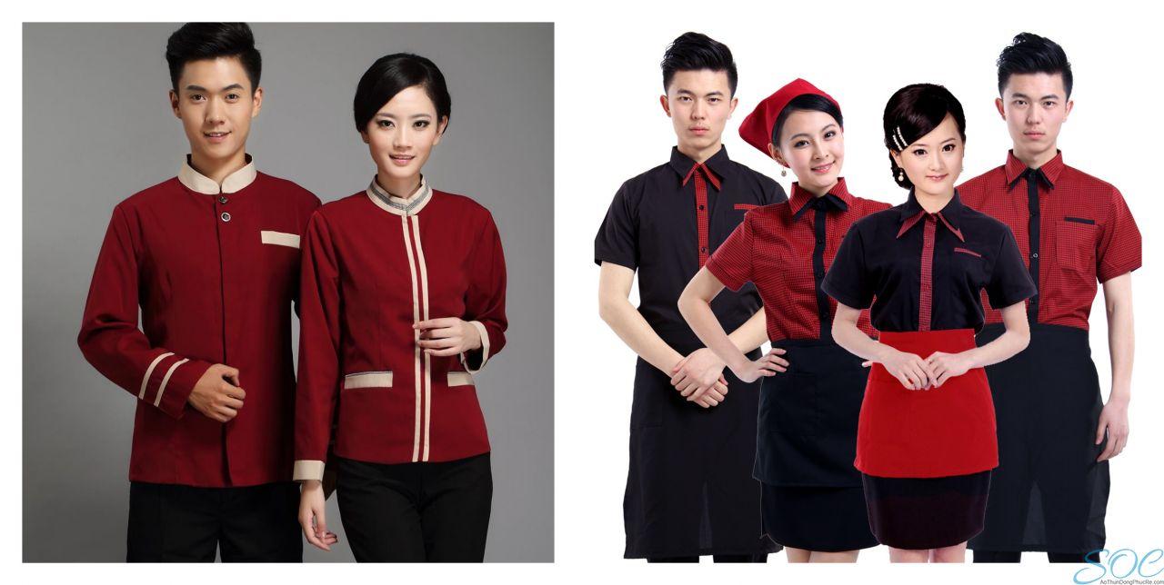 Đồng phục nhà hàng, khách sạn, nhân viên phục vụ